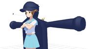 【MMD】満艦飾マコ極制服【キルラキル】