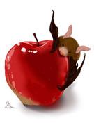 こうもりんご