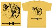 Comic1☆8発行 伊8はっちゃんTシャツ