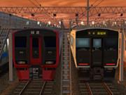RailSimで南福岡車両区風味