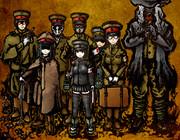 憲兵隊が鎮守府に着任しました。 これよりセクハラの取り締まりを行います!
