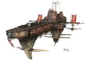 帝国軍 ガルエ級駆逐艦