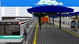阪神9000系を待避する初鉄7000系