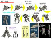【第一回春のオリメカ祭りEx】ALTAIR 変型解説