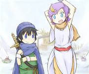 主人公とベラ
