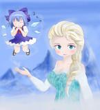 雪の女王と氷の妖精
