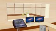 [MMD] 簡易的な録音スタジオのステージモデル