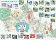 Tokyo ちょむちょめマップ