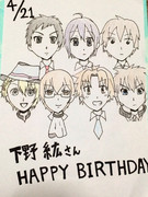 下野紘さん誕生日!