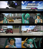 Miku×2 Drive【製作風景…映像スクリーンショット(仮)】