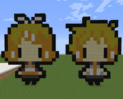 【Minecraft】鏡音リンレン【VOCALOID】