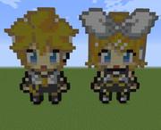 【Minecraft】鏡音リンレンpart2【VOCALOID】