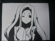 【切り絵】魔法科高校の劣等生 七草真由美