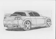 RX-8 描いてみた