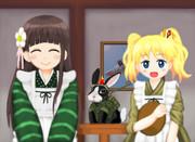 和風喫茶「甘兎庵」に強力な助っ人がやって来た!