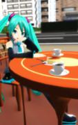 街角喫茶でのひと時