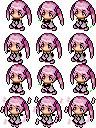 RPGツクール用桜ミクサイドビュー3