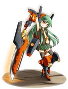 剣系メカ少女