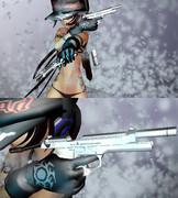 9㎜ SWORD CUTLASS【第二回ガンアクションinMMD選手権】