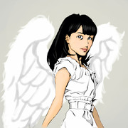 天使な百田さん。