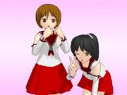 【OMF4】軽巡洋艦娘 名取/長良【モデル配布】