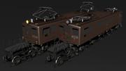 【MMD-OMF4】EF18直流電機機関車
