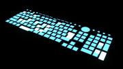 【MMD-OMF4】空中に浮かんでる感じのキーボード【モデル配布】