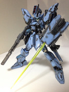 昔改造したガンプラに武装を追加して晒す