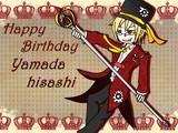 Happy Birthday yamada 2014