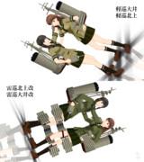 【MMD-OMF4】艦これ 大井&北上(suz5式)【モデル配布】