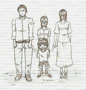 ジンと家族