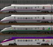 E3系新幹線のラッピングとか