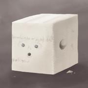 豆腐です。とある配信にて一枠中に落書き、あっという間に完成。