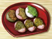 柏餅と桜餅