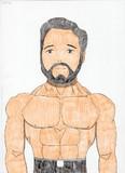 レグ・パークを描いてみた