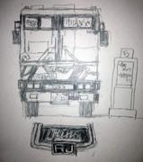 レインボーRJ/初代観光系(のつもりで描いた)