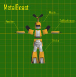 【3Dモデル】メタビー【配布あり】