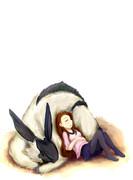 伊織と白兎獣
