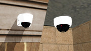 【MMD-OMF4】ドーム型監視カメラ
