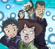 ジョジョの奇妙な冒険 第4部 康一・玉美・億安・承太郎・朋子