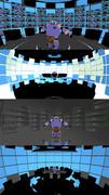【MMD】サイバー的なステージ