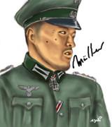 ミュラー大尉描きました【淫夢要素はありません】