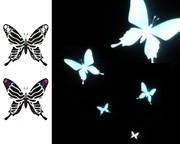 【MMD-OMF4】黒死蝶(夜光蝶)【モデル配布】