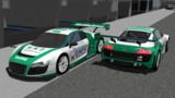 【MMD-OMF4】Audi R8 LMS