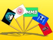 【MMD-OMF4】旗つまようじ ver1.00