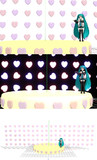 【MMD-OMF4】ハートx100ステージ【ステージ配布】