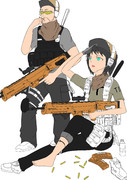 PMC女性兵士