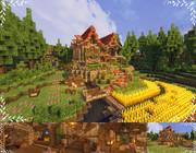 【Minecraft】 小さな家