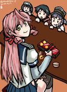 【艦これ】明石焼きを食べる明石さん【ワンドロ】