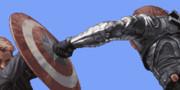 ドット絵 スティーブ・ロジャース(キャプテン・アメリカ) VS ウィンター・ソルジャー